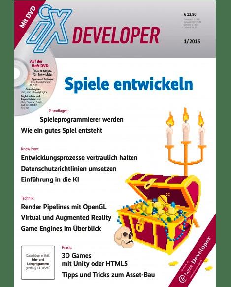 Einführung in die Spieleentwicklung auf 156 Seiten: Das Sonderheft ist ab heute auch im gut sortierten Zeitschriftenhandel erhältlich.