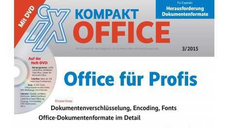 "Neues Sonderheft: ""iX Kpmpakt Office"""