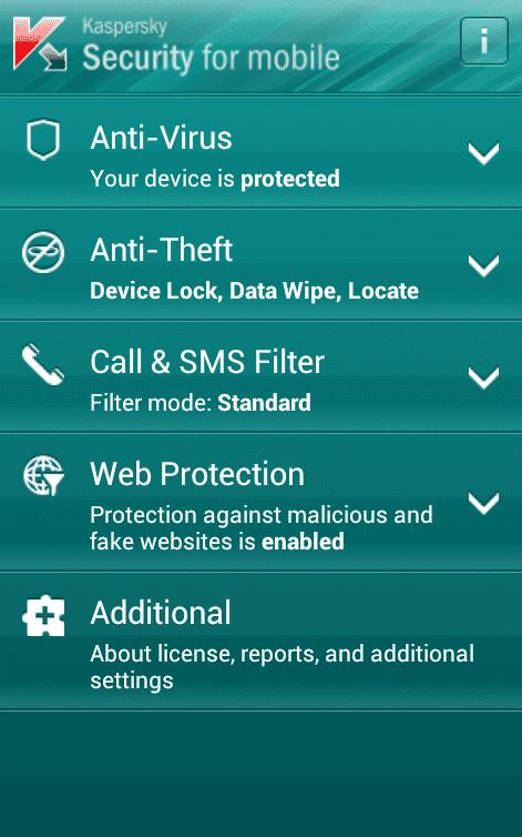 Kaspersky Security for Mobile gibts nun auch fürs WIndows Phone.