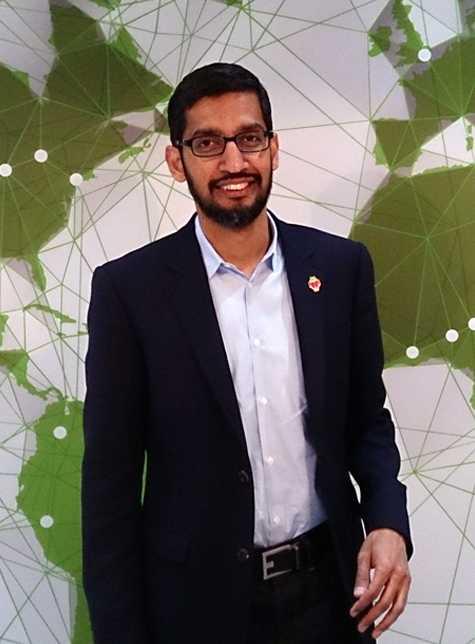 Googles CEO Sundar Pichai