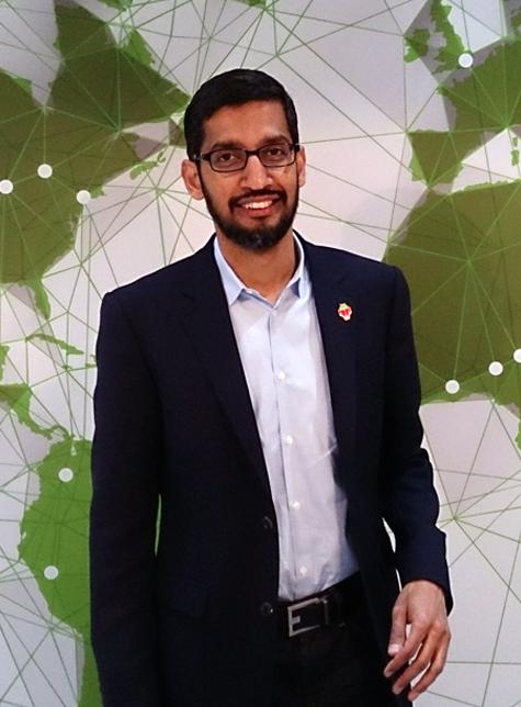 Googles CEO Sundar Pichai