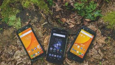Robuste Android-Smartphones im Test