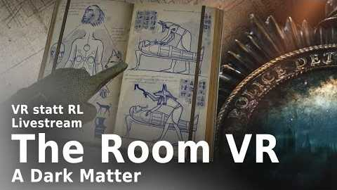 """VR statt RL: """"The Room VR"""" im Livestream"""