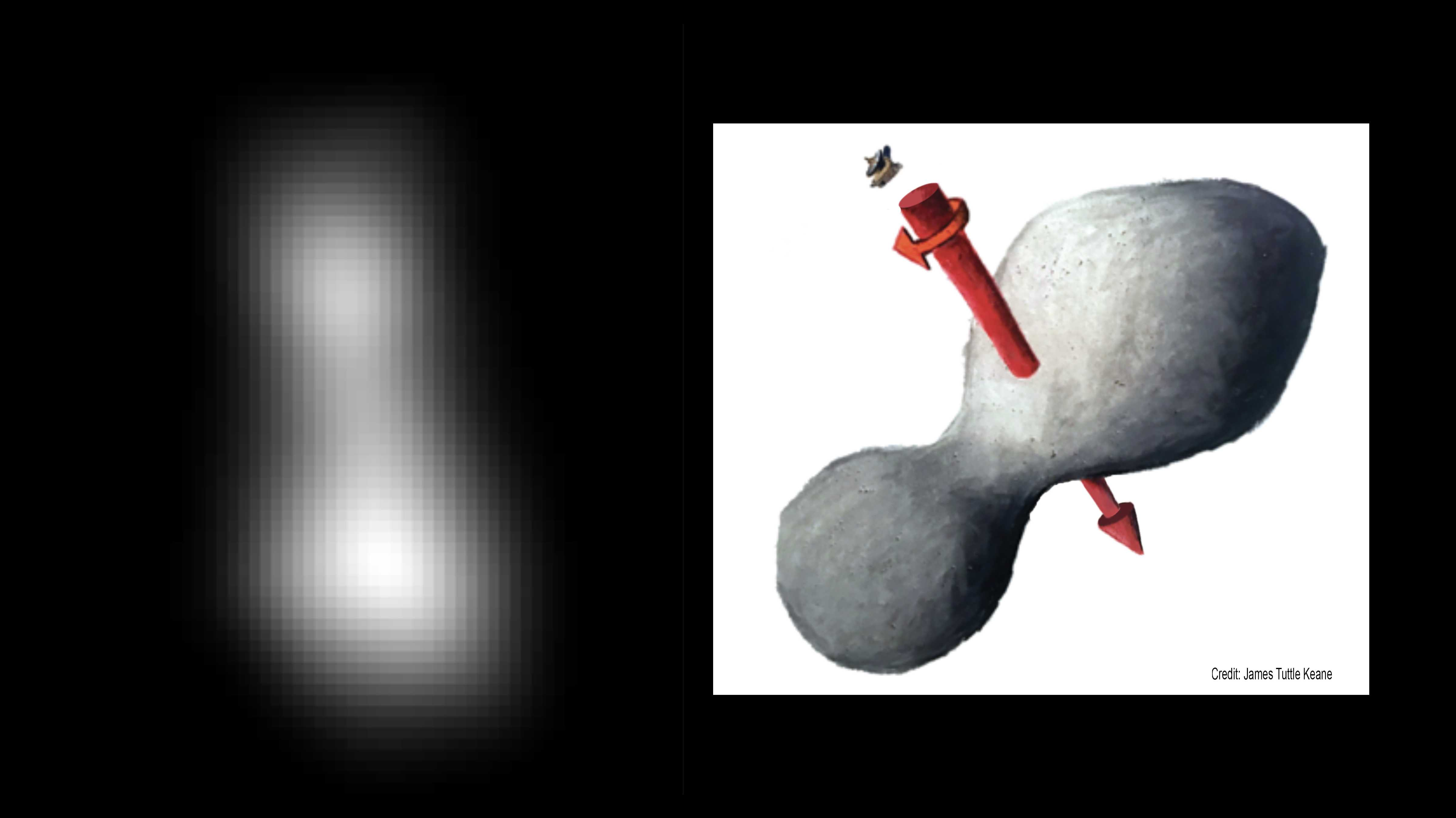 NASA-Sonde New Horizons: Vorbeiflug an Ultima Thule hat geklappt, erstes Rätsel gelöst