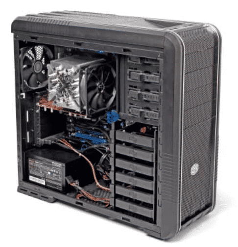 Kompromisslose Performance: Der LGA2011-Bauvorschlag mit Intels Hexa-Core