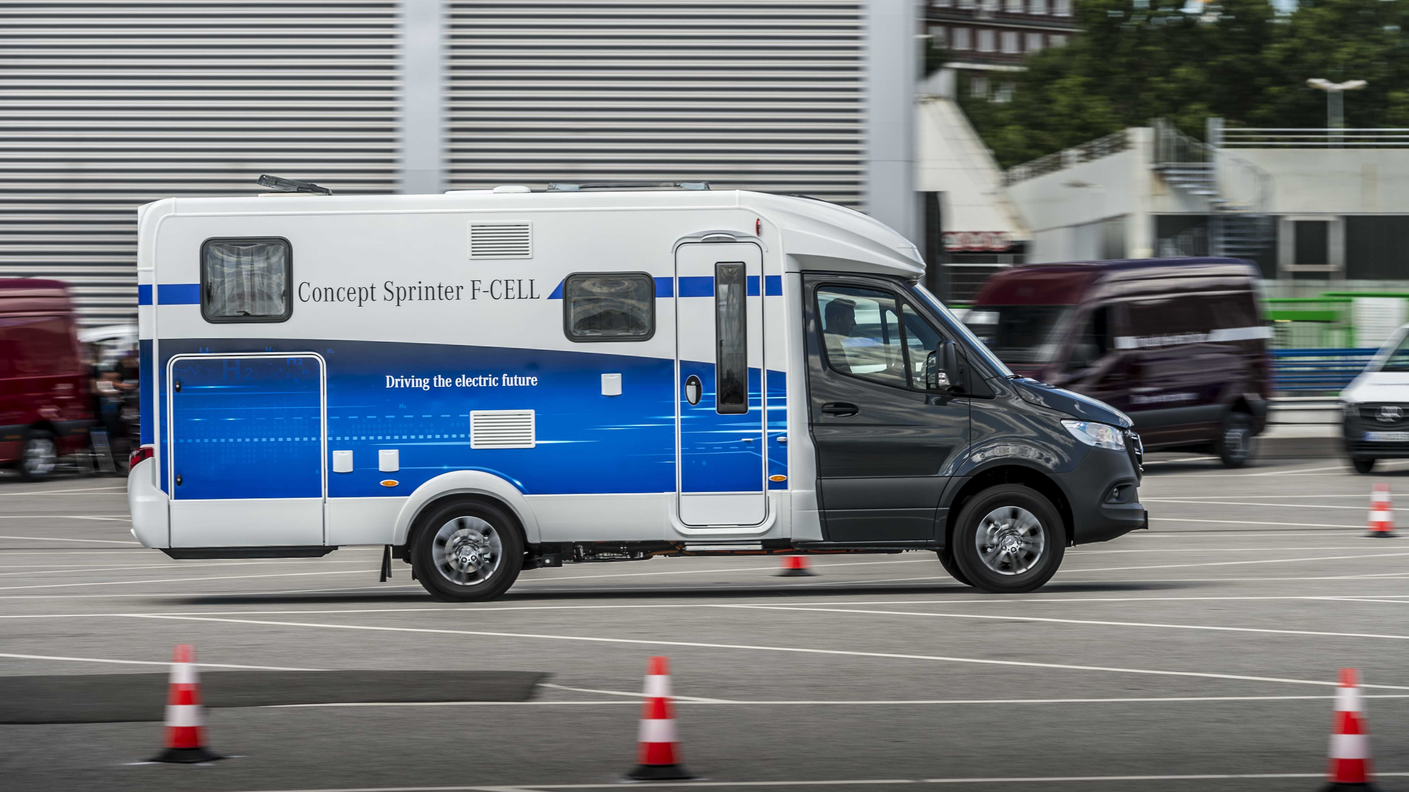 Daimler: eVito demnächst, eSprinter 2019, Brennstoffzellen-Sprinter irgendwann