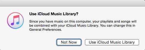 Die iCloud-Musikmediathek ist nur für bestimmte Funktionen erforderlich