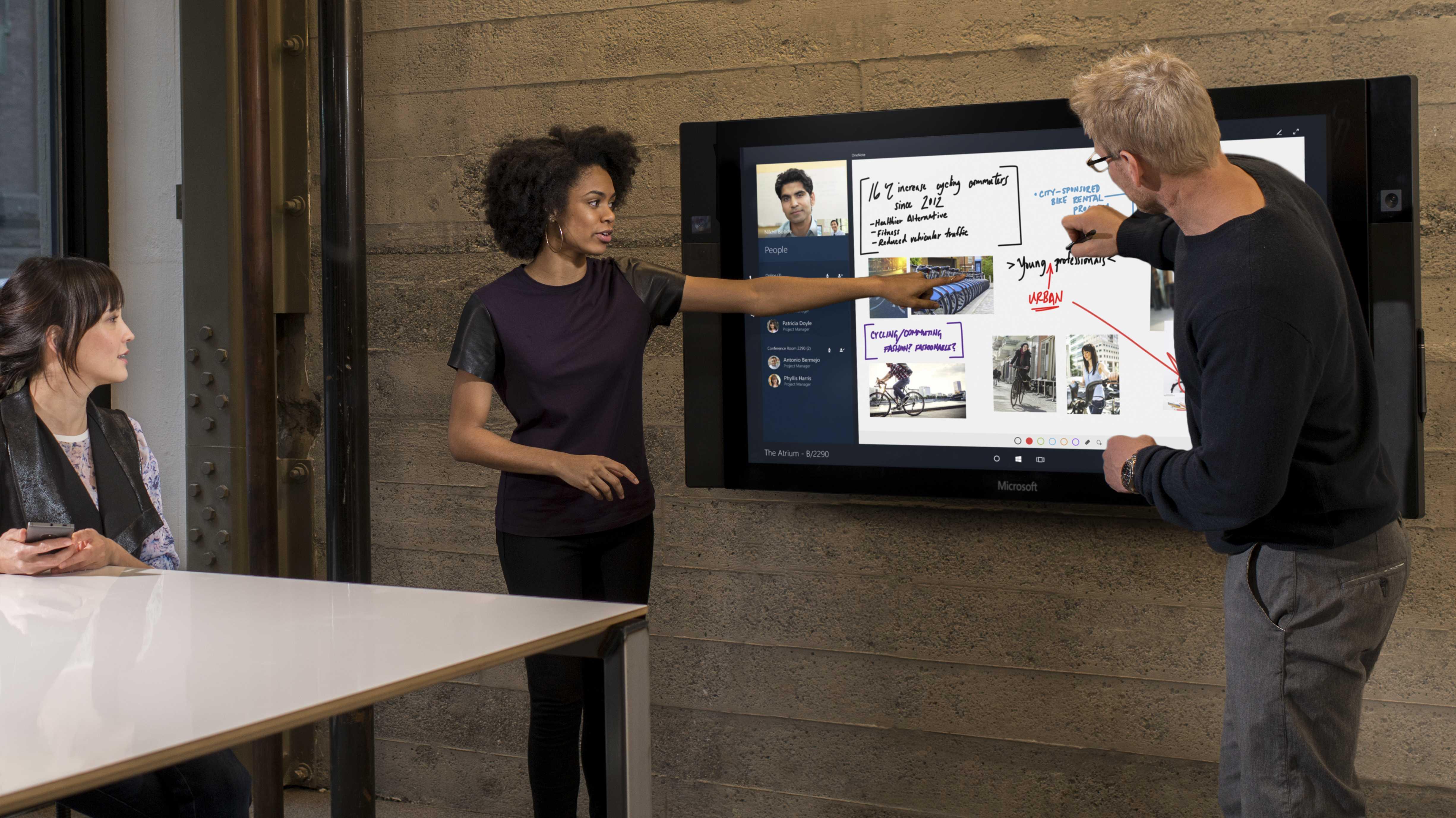Microsofts Riesentablet Surface Hub ab Juli vorbestellbar