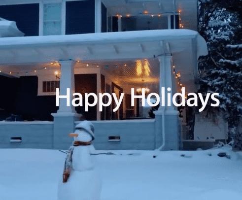 Apples Weihnachts-Werbespot hat einen Emmy erhalten