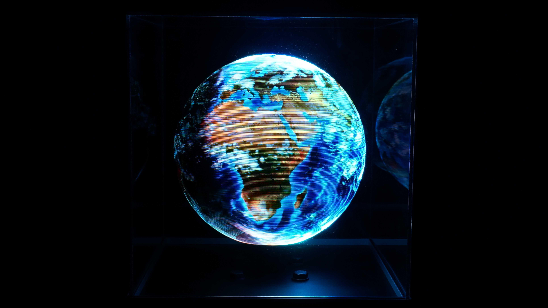 460.800 Pixel: POV-Globe hochaufgelöst