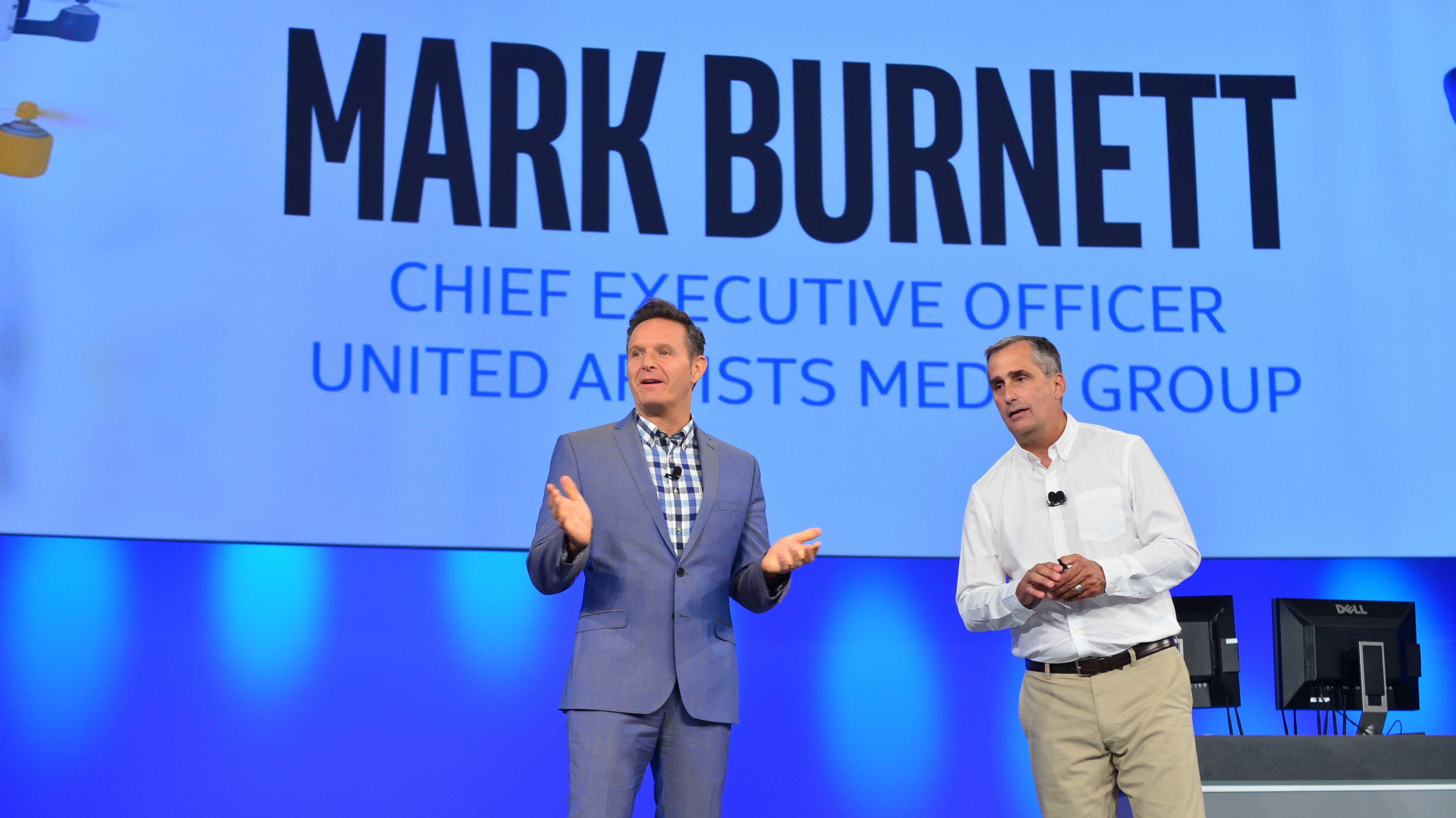 Mark Burnett und Brian Krzanich
