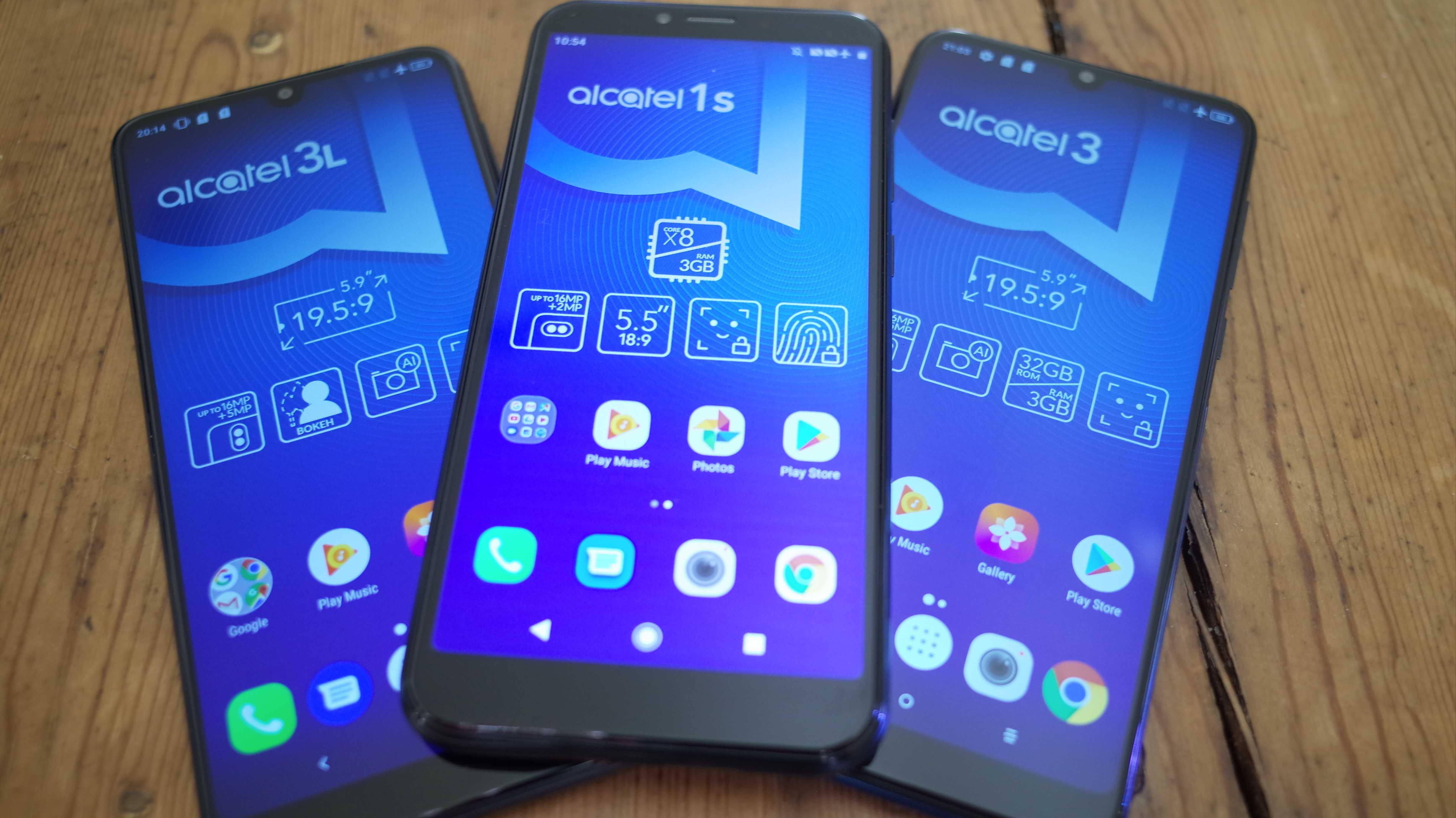 Drei Smartphones für wenig Geld: Alcatel frischt Produktpalette auf
