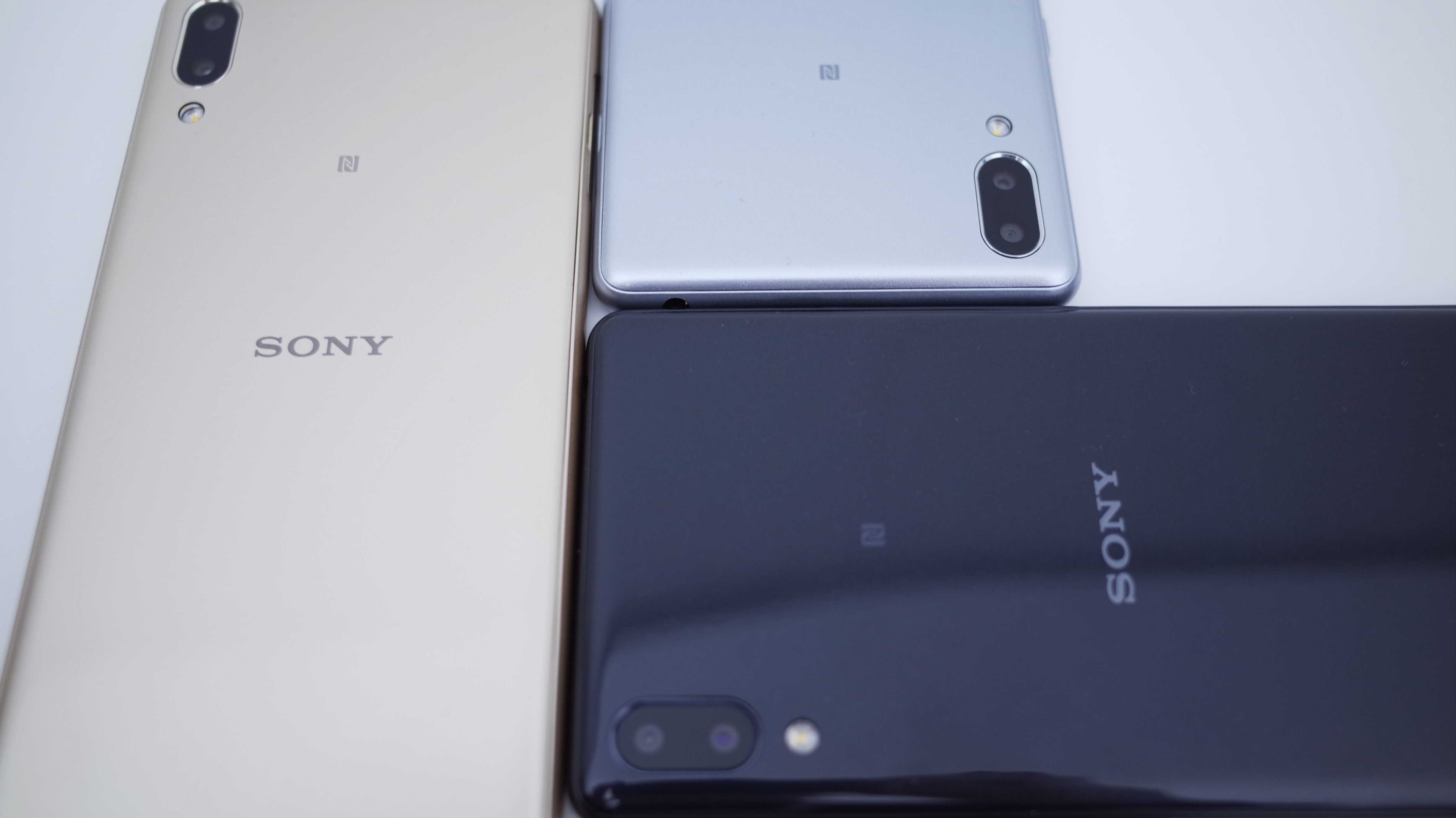 Neue Sony-Smartphones: Displays im Kinoformat und Dual-Cams