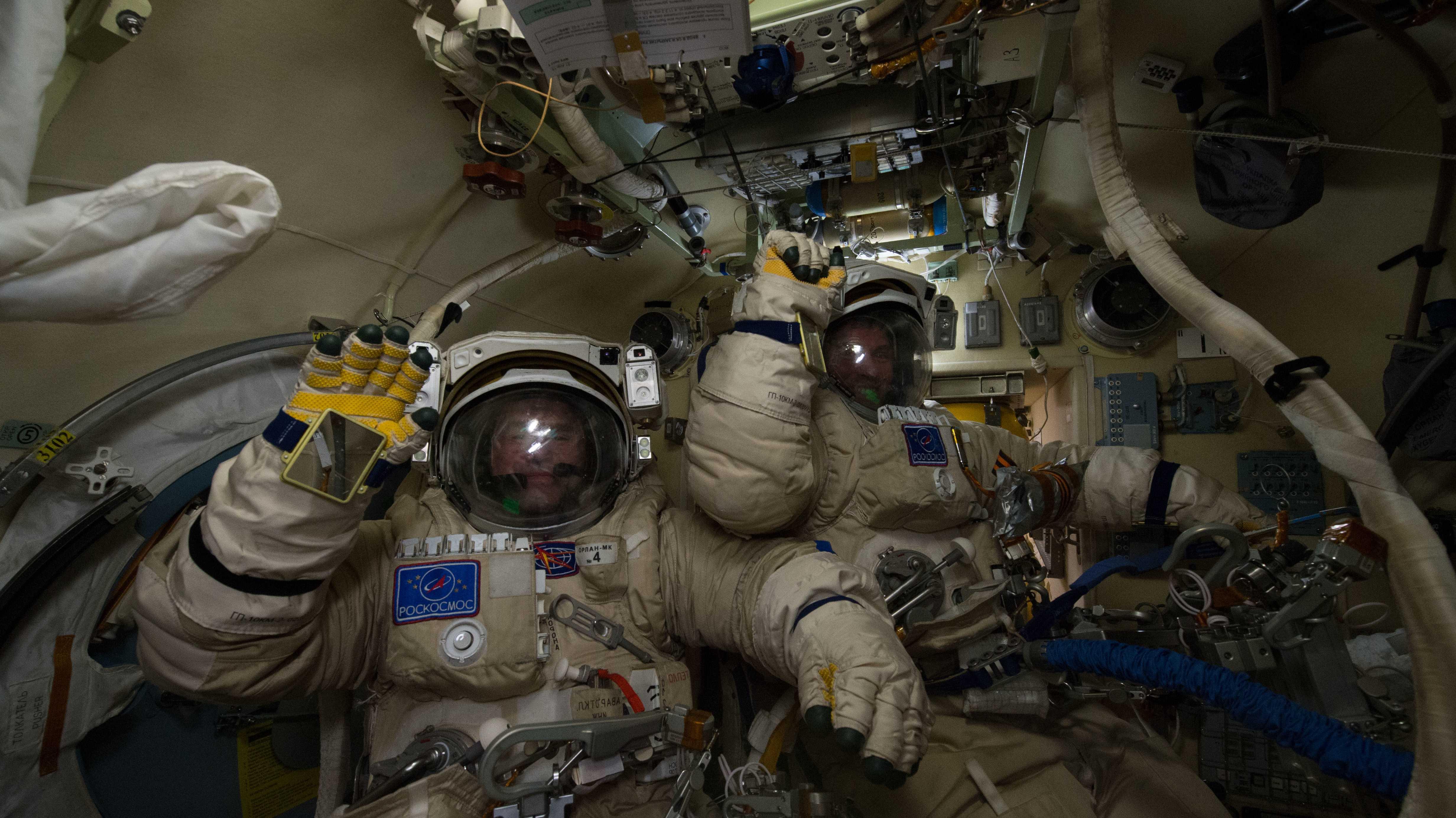 Loch in der ISS: Russland will Überwachungskameras anbringen