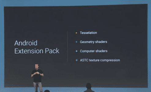 Das Android Extension Pack soll gewisse Grafikfähigkeiten nachrüsten.