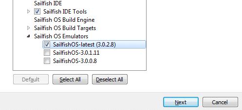 Über das Sailfish SDK 2.0 können Entwickler verschiedene OS-Versionen anpeilen.