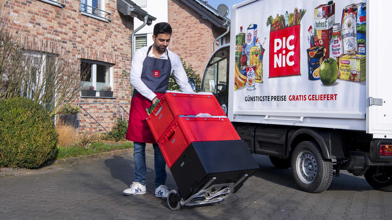 Picnic bringt frischen Wind in den Online-Lebensmittelhandel – und will expandieren