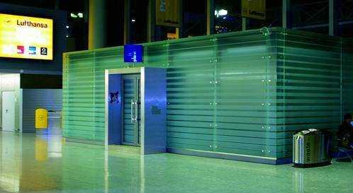 Iriserfassung am Flughafen Frankfurt