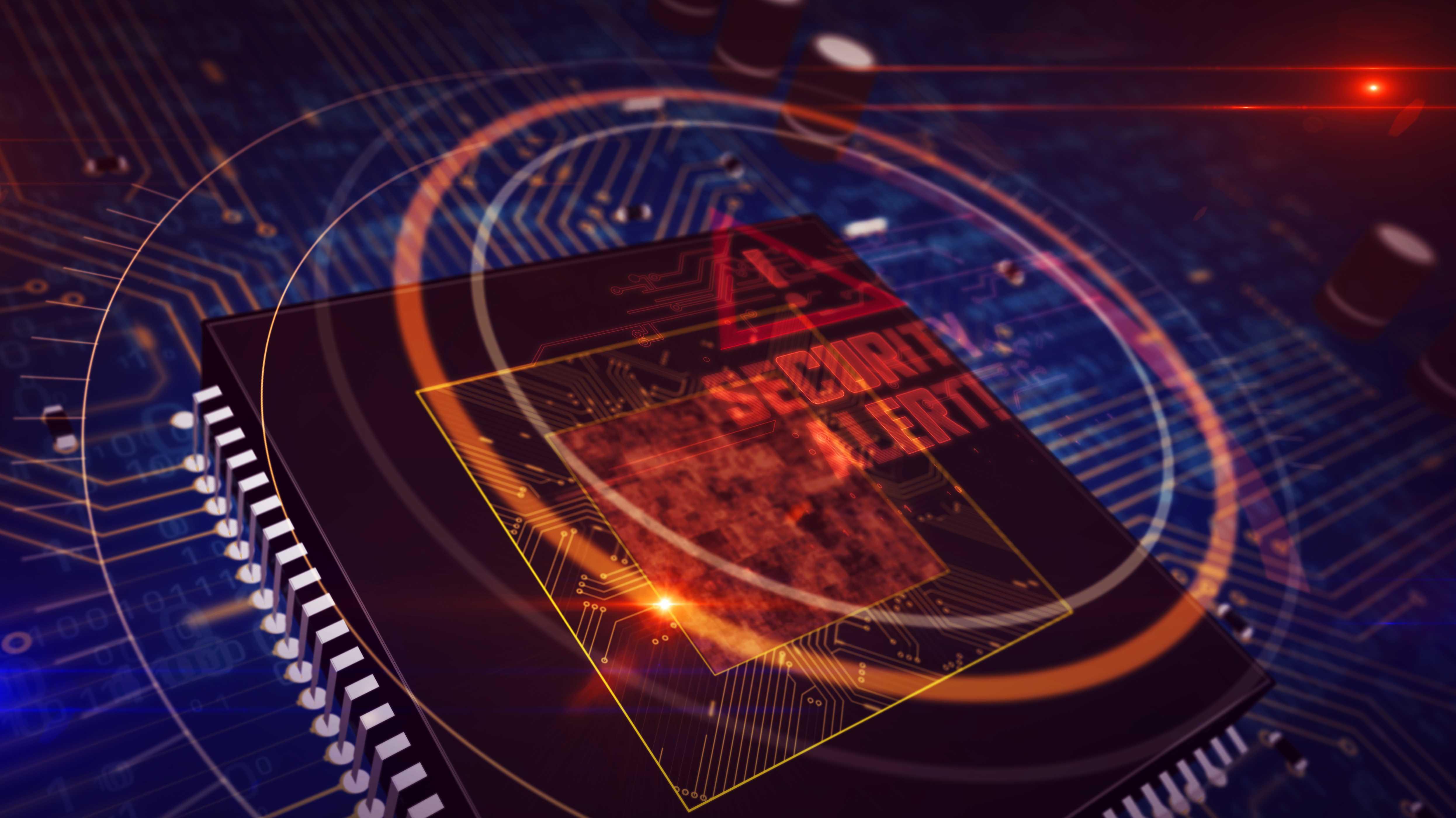 Cyber,Hacker,Attack,Background,,Skull,Vector
