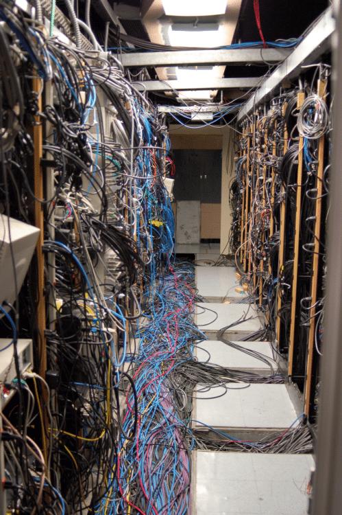 Netzwerk-Patchraum