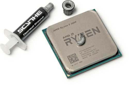 Kleiner Klecks, große Wirkung: Das Verteilen der Wärmeleitpaste auf der CPU übernimmt der Anpressdruck des Kühlers.