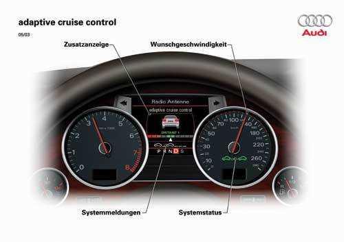 Ein ACC ist als Komfortsystem zur Entlastung bei Kolonnenfahrt gedacht. Es wird manchmal als Lizenz zum noch dichter Auffahren missverstanden.