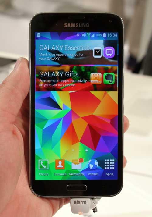 Mit einem Fingerabdrucksensor und einem Deal mit Paypal soll das Galaxy S5 mobiles Bezahlen salonfähig machen.