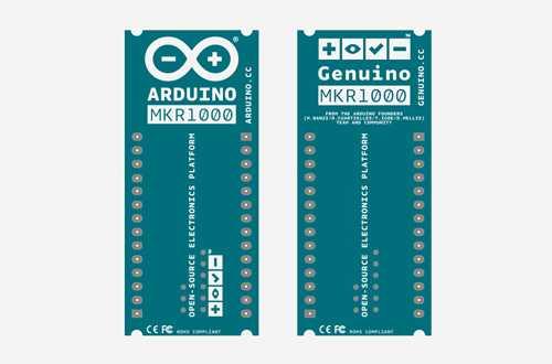 Der Arduino/Genuino MKR1000 soll deutlich kleiner werden als herkömmliche Arduino-Boards.