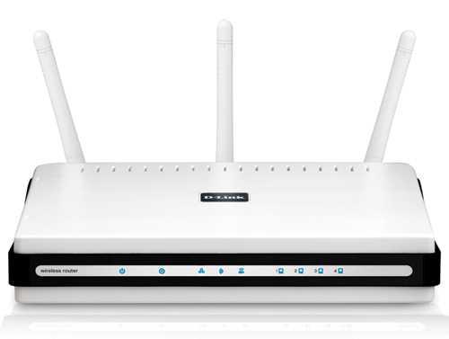 Dlinks WLAN-Router N450 funkt als einer der ersten mit bis zu 450 MBit/s.