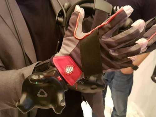 Für Virtual Reality gibt es nun zahlreiches Zubehör wie diesen Handschuh.