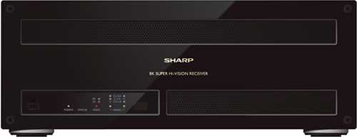 8K-Receiver von Sharp