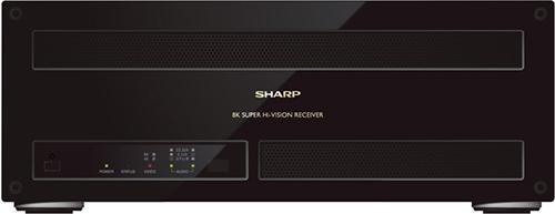 Im Oktober 2016 hat Sharp den ersten Satellitenempfänger für das 8K-TV-Format Super Hi-Vision vorgestellt.