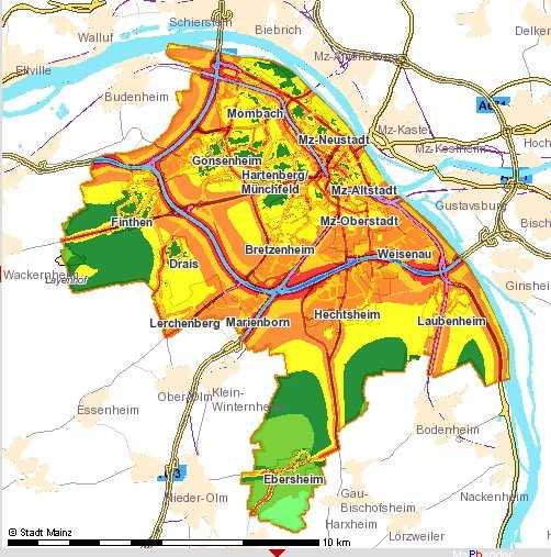 Geodaten-Projekt Mainz