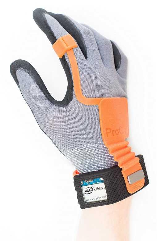 Der Pro Glove soll Arbeiten in der Produktion vereinfachen.