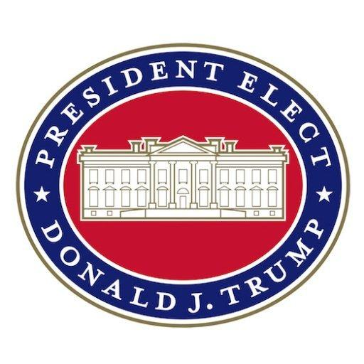 "Logo ""President Elect Donald J. Trump"""