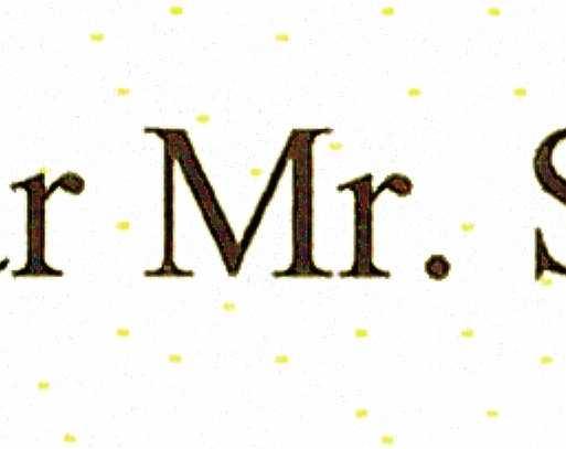 Anhand der vom Drucker eingebrachten gelben Pünktchen lässt sich die Quelle eines ausgedruckten Dokuments nachvollziehen.
