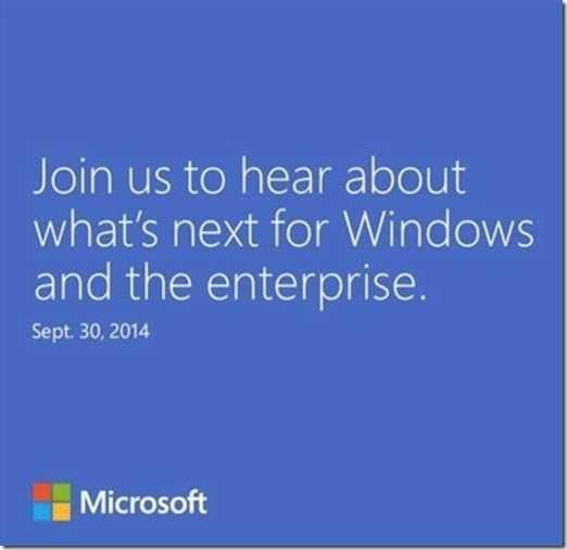 Am 30. September wird Microsoft die neue Windows-Version und ihre Auswirkungen für Großkunden vorstellen.