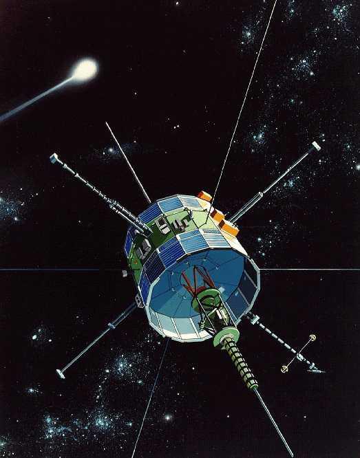 ISEE-3/ICE war die erste Sonde, die einen Vorbeiflug an einem Kometen absolvierte.