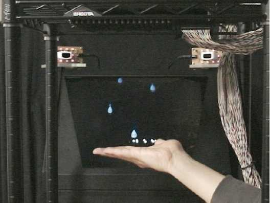 Fühlbares Hologramm