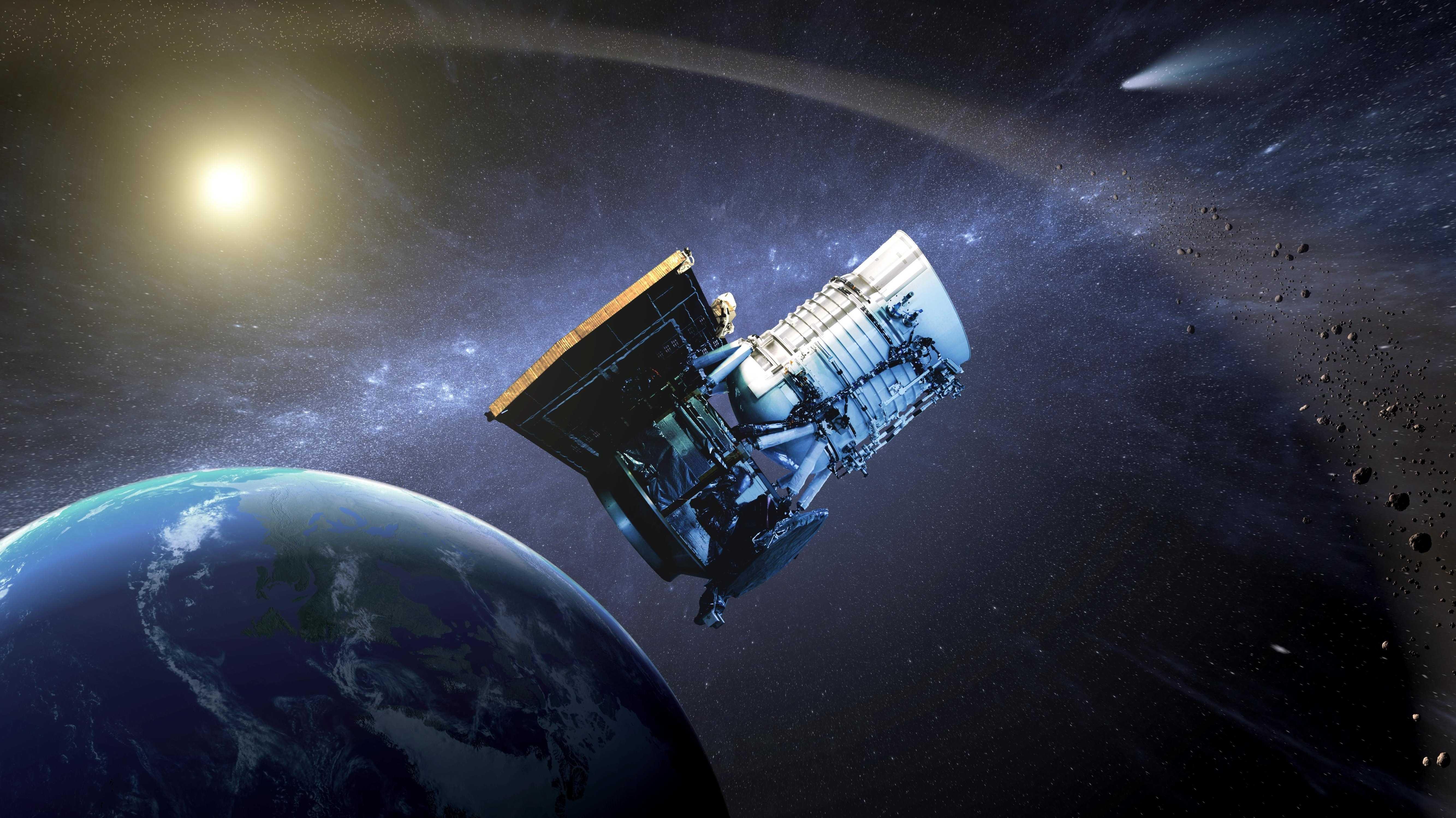 NASA-Teleskop Neowise: Hunderte erdnahe Objekte entdeckt, auch potenziell gefährliche