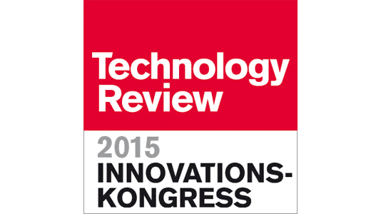 """Innovationskongress """"Intelligente Energie"""" von Technology Review"""