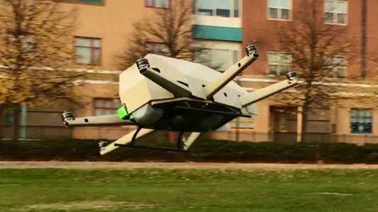 Hybridantrieb für zivile Drohnen