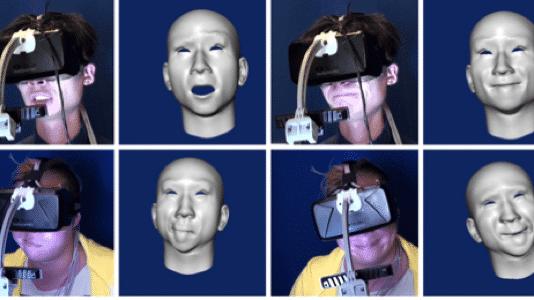 Mit Oculus Rift Gesichtsausdrücke erkennen und ins Virtuelle übertragen