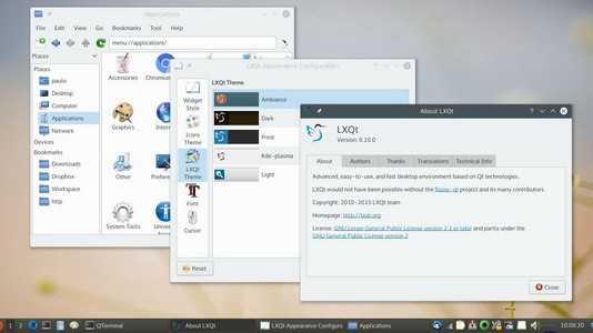LXQt 0.10.0: Viel Feinschliff für den schlanken Linux-Desktop