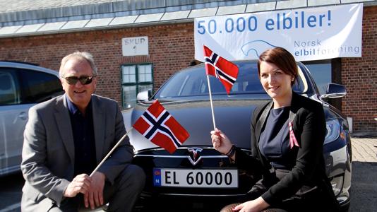 Norwegen: Elektroautos funktionieren