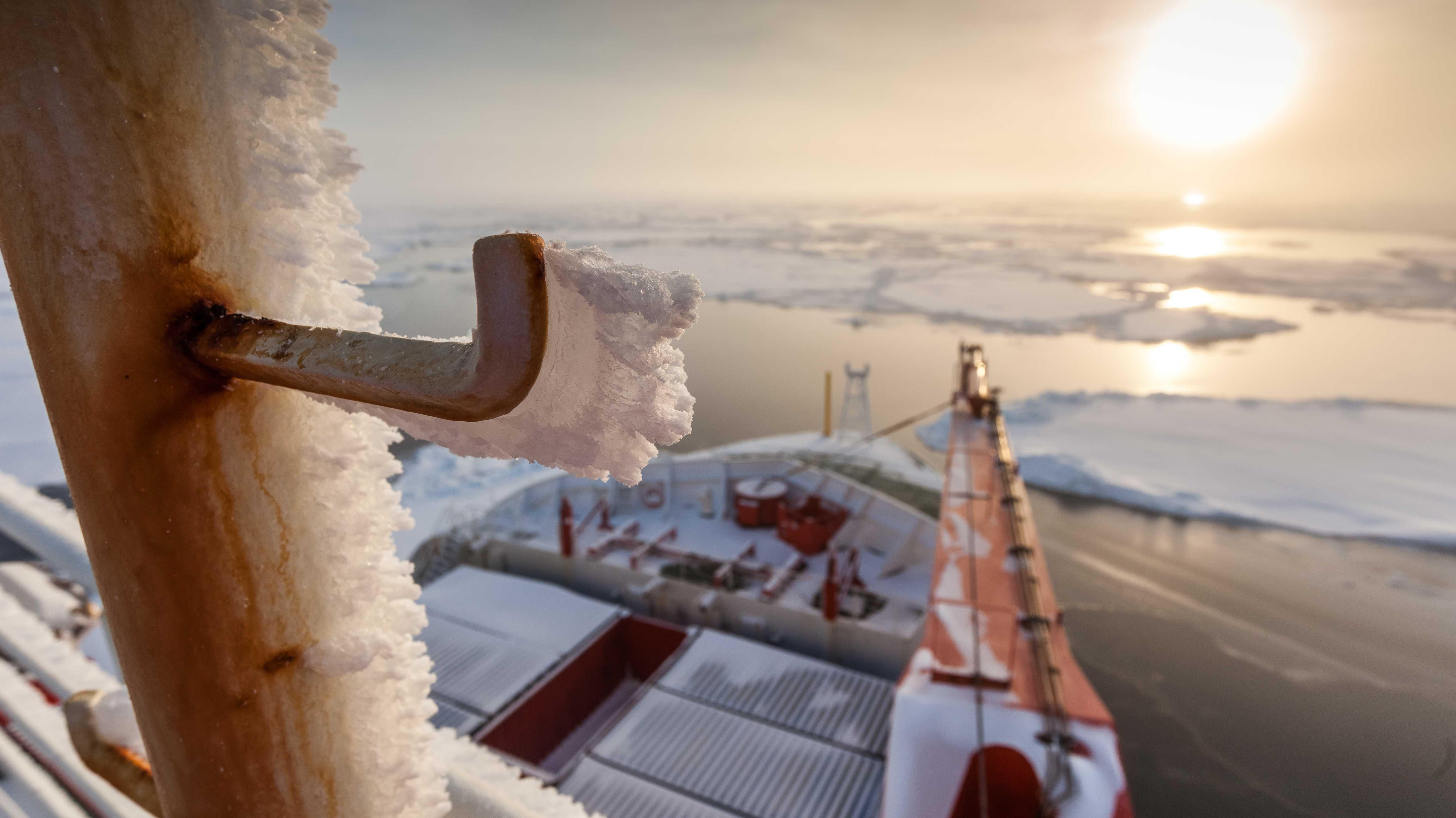 Bremerhaven: Mit der VR-Brille auf das Forschungsschiff Polarstern