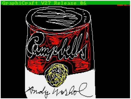Die Campbell-Suppendosen gehören zu seinen berühmtesten Werken.