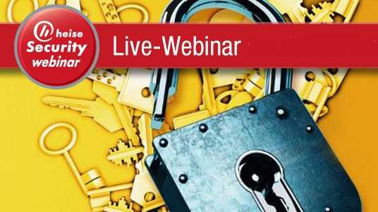 heise Security Webinar: SSL zielgerichtet optimieren