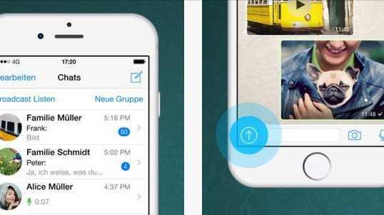 iPhone 6s: WhatsApp unterstützt 3D Touch