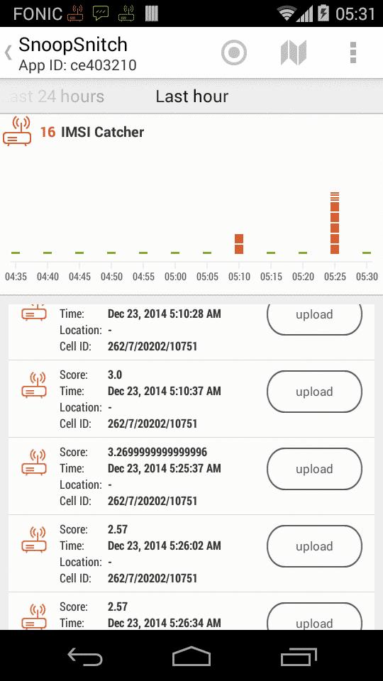 SnoopSnitch erkennt Angriffsversuche über IMSI-Catcher, aber auch erweiterte SS7-Angriffe.
